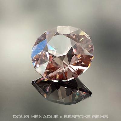 Zircon, SG1, Harts Ranges, #690 - Doug Menadue :: Bespoke Gems - Master gemcutter and lapidary artist specialising in fine custom cut precision gems from a wide range of select facet gem rough. Located in Sydney, Australia.