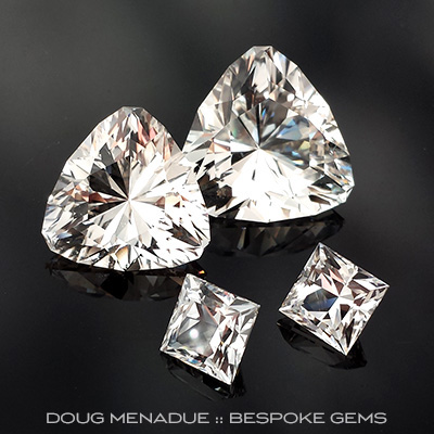 Topaz, Flinders Island, Tasmania, Australia, #700 - Doug Menadue :: Bespoke Gems - Master gemcutter and lapidary artist specialising in fine custom cut precision gems from a wide range of select facet gem rough. Located in Sydney, Australia.