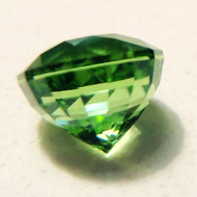 Peridot, Pops Orange, #73 - Doug Menadue :: Bespoke Gems - Master gemcutter and lapidary artist specialising in fine custom cut precision gems from a wide range of select facet gem rough. Located in Sydney, Australia.
