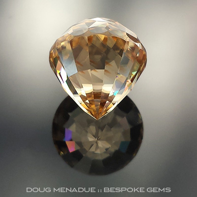 Butterscotch Zircon, Majestic Kalli, Africa, #735
