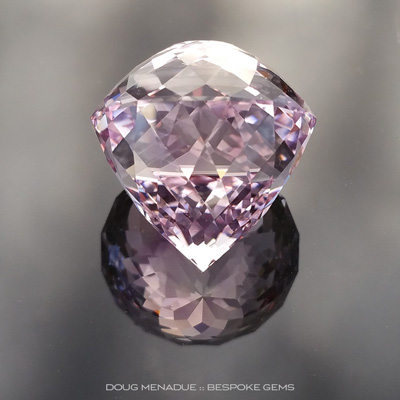 #840, Rose de France, Portuguese Double Cut, Brazil, 36.9ct - Doug Menadue :: Bespoke Gems