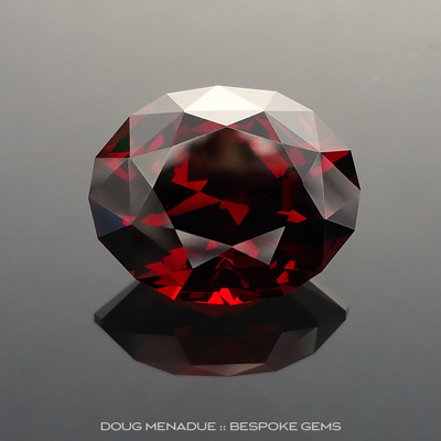 Garnet, Supernova, Malawi, #884 - Doug Menadue :: Bespoke Gems - Master gemcutter and lapidary artist specialising in fine custom cut precision gems from a wide range of select facet gem rough. Located in Sydney, Australia.