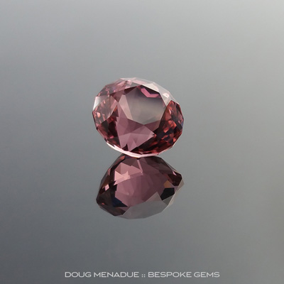 Pink Tourmaline, Antique Round Royale, Afghanistan, #888, 2.67 Carats, 8.00x8.00x6.68mm, Precision Hand Faceted By Doug Menadue :: Bespoke Gems