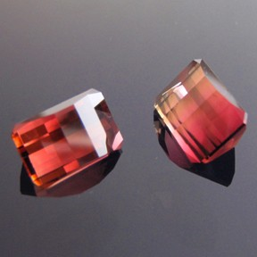 Bi-Coloured Tourmaline, Nigeria, Smith Bar, #89 - Doug Menadue :: Bespoke Gems - Master gemcutter and lapidary artist specialising in fine custom cut precision gems from a wide range of select facet gem rough. Located in Sydney, Australia.