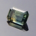 Sapphire, Emerald Cut, Rubyvale, Central Queensland, Australia, #bb12