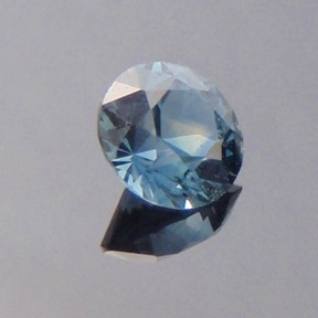 Sapphire, Round Brilliant, #bb15 - Doug Menadue :: Bespoke Gems - Master gemcutter and lapidary artist specialising in fine custom cut precision gems from a wide range of select facet gem rough. Located in Sydney, Australia.