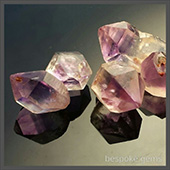 Beautiful amethyst crystals from the bowen area dug over two decades ago.  These are lovely amethyst, nice gemmy crystal tips. - DOUG MENADUE :: BESPOKE GEMS :: Finest Precision Custom Gemcutting Based In Sydney Australia