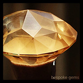 Golden beryl :: the crown facets have been cut in... now its time to prepolish them in preparation for the polish. - DOUG MENADUE :: BESPOKE GEMS :: Finest Precision Custom Gemcutting Based In Sydney Australia