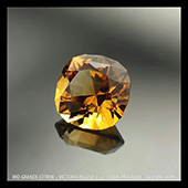 Here is another pic of that beautiful rio-grande citrine. 2.8ct, 9mm of luscious gold. This design, my signature Victoria Regent cut, is my own take on the classic square cushion style of cut. It works well in all types of stone.   - DOUG MENADUE :: BESPOKE GEMS :: Finest Precision Custom Gemcutting Based In Sydney Australia - WWW.BESPOKE-GEMS.COM