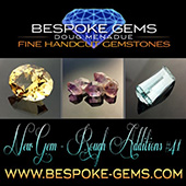 Hi folks, I have just uploaded a new batch of hand cut precision gems and rough to my website. Please check out the WHATS NEW page.   - DOUG MENADUE :: BESPOKE GEMS :: Finest Precision Custom Gemcutting Based In Sydney Australia - WWW.BESPOKE-GEMS.COM