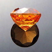 fanta orange mandarin spessartite garnet :: 3ct :: 7.8x7.8x6mm :: loliondo, tanzania :: antique round 1910 :: these garnets from loliondo are truly stunning to behold and yes, they really are that rich fanta orange color. - DOUG MENADUE :: BESPOKE GEMS :: Finest Precision Custom Gemcutting Based In Sydney Australia