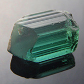 tourmaline :: afghanistan :: This is an absolutely dynamite afghan tourmaline in excellent blue/green tones. I expect this to cut an eye clean to maybe a very very slightly included stone. I have it earmarked for a pear/teardrop design. A top stone! Open C axis. - DOUG MENADUE :: BESPOKE GEMS :: Finest Precision Custom Gemcutting Based In Sydney Australia