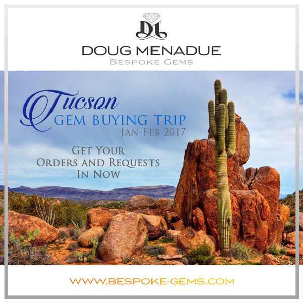 Tucson Gem Buying Trip 2017. Doug Menadue :: Bespoke Gems :: WWW.BESPOKE-GEMS.COM - Finest Precision Custom Gemcutting Based In Sydney Australia
