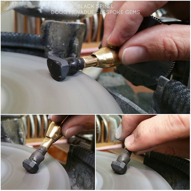 Begin the grinding... a bit of black magick coming up.  DOUG MENADUE  WWW.BESPOKE-GEMS.COM  SYDNEY CBD AUSTRALIA  ~~~ Commissions Taken ~~~ - Precision Gemcutting and Lapidary Services Located In Sydney Australia