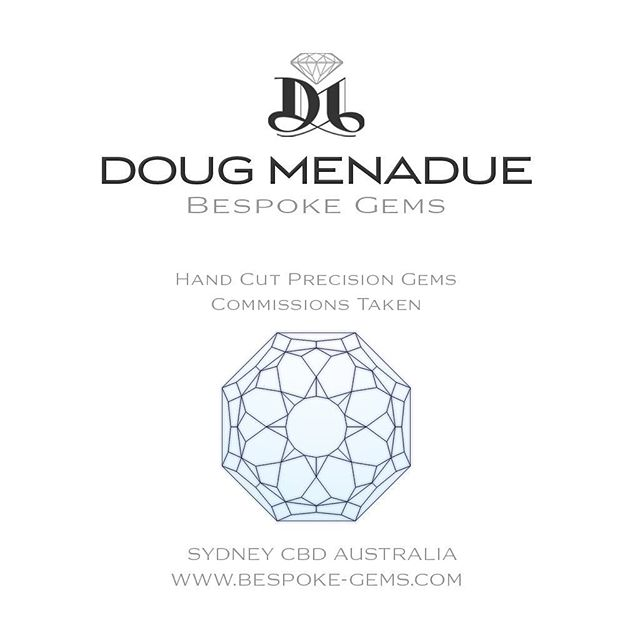 DOUG MENADUE :: BESPOKE GEMS :: Specialising in high-end precision hand-cut gemstones in beautiful traditional and modern designs. All gem designs are optimised to bring out the very best in colour, brilliance and performance and Doug can even create your own personal and unique design. Discover the art of the gemcutter with Doug Menadue and Bespoke Gems and see just how incredible coloured gems can really be. ~~~ Commissions Taken ~~~ SYDNEY CBD AUSTRALIA  WWW.BESPOKE-GEMS.COM - Precision Gemcutting and Lapidary Services Located In Sydney Australia