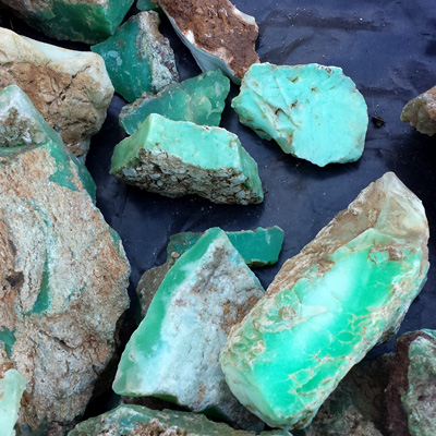 Chrysoprase, Marlborough, Queensland, Australia