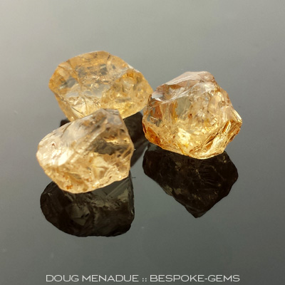 Yellow Grossular Garnets, Mali