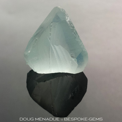 Natural Blue Topaz, Africa