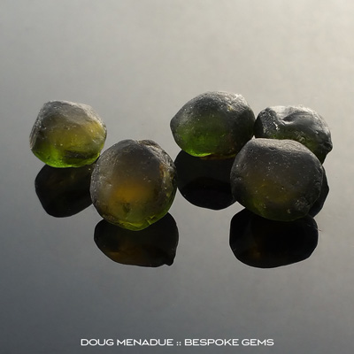 Some beautiful juicy sunset tourmaline nodules that will cut stunning gems. Doug Menadue :: Bespoke Gems