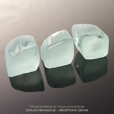 Aquamarine, Mozambique, #r282 - Doug Menadue :: Bespoke Gems :: For the finest quality precision cut and polished gemstones, located in the heart of Sydney Australia. Discover the art of the gemcutter.