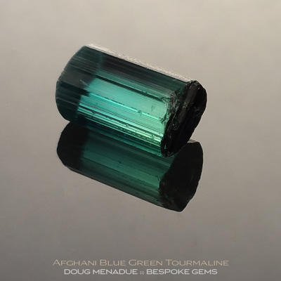 Blue Green Tourmaline, Afghanistan, #r284 - Doug Menadue :: Bespoke Gems :: For the finest quality precision cut and polished gemstones, located in the heart of Sydney Australia. Discover the art of the gemcutter.