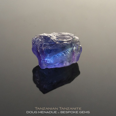 Tanzanite, Tanzania, #r285 - Doug Menadue :: Bespoke Gems :: For the finest quality precision cut and polished gemstones, located in the heart of Sydney Australia. Discover the art of the gemcutter.