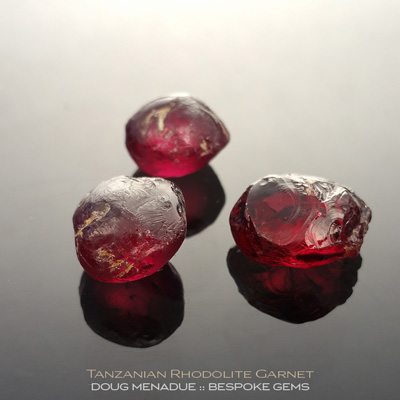 Rhodolite Garnet, Tanzania, #r286 - Doug Menadue :: Bespoke Gems :: For the finest quality precision cut and polished gemstones, located in the heart of Sydney Australia. Discover the art of the gemcutter.