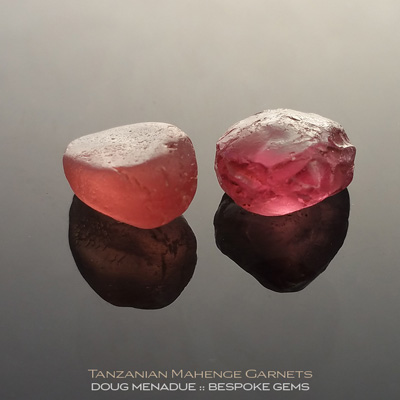 Mahenge Garnet, Tanzania, #r287 - Doug Menadue :: Bespoke Gems :: For the finest quality precision cut and polished gemstones, located in the heart of Sydney Australia. Discover the art of the gemcutter.
