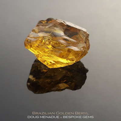 Golden Beryl, Brazil, #r291 - Doug Menadue :: Bespoke Gems :: For the finest quality precision cut and polished gemstones, located in the heart of Sydney Australia. Discover the art of the gemcutter.