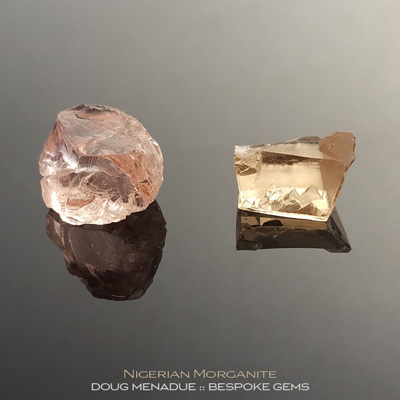 Morganite, Nigeria, #r292 - Doug Menadue :: Bespoke Gems :: For the finest quality precision cut and polished gemstones, located in the heart of Sydney Australia. Discover the art of the gemcutter.