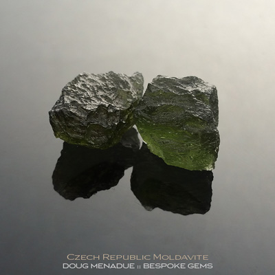 Moldavite, Czech Republic, #r294 - Doug Menadue :: Bespoke Gems :: For the finest quality precision cut and polished gemstones, located in the heart of Sydney Australia. Discover the art of the gemcutter.