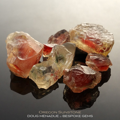 Oregon Sunstone, Oregon, #r297 - Doug Menadue :: Bespoke Gems :: For the finest quality precision cut and polished gemstones, located in the heart of Sydney Australia. Discover the art of the gemcutter.